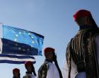 Ημέρα της Ευρώπης: Υψώθηκαν στην Ακρόπολη οι σημαίες Ελλάδας και Ε.Ε. – Εντυπωσιακές εικόνες