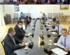 Ο Δήμαρχος Σαλαμίνας στην τηλεδιάσκεψη για την επιχείρηση «Γαλάζια Ελευθερία» υπό τον Πρωθυπουργό κ. Κυριάκο Μητσοτάκη