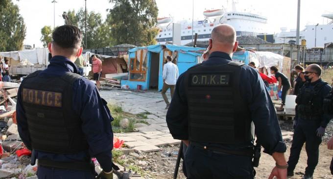 Συντονισμένη επιχείρηση Δήμου Πειραιά-ΕΛ.ΑΣ για την απομάκρυνση παράνομα διαμενόντων στον παλιό σιδηροδρομικό σταθμό Αγίου Διονυσίου