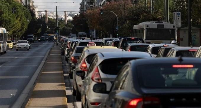 Αυξημένη κατά περίπου 5.5%, παρουσιάζεται η κυκλοφορία τις πρωινές ώρες αιχμής σε 20 κεντρικούς δρόμους της Αττικής