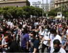 Σε εξέλιξη η πορεία για την εργατική Πρωτομαγιά στο κέντρο της Αθήνας – O Τσίπρας επικεφαλής στο μπλοκ του ΣΥΡΙΖΑ