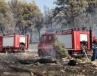 Μεγάλη φωτιά στην Κερατέα – Εκκενώνεται προληπτικά οικισμός