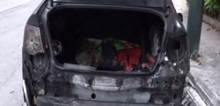 Μυστήριο με πυρκαγιά σε αυτοκίνητο στου Ρέντη – ΒΙΝΤΕΟ