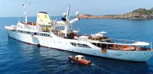 «Χριστίνα»: Ετοιμη για κρουαζιέρες η θρυλική θαλαμηγός του Ωνάση – Με 630.000 ευρώ την εβδομάδα