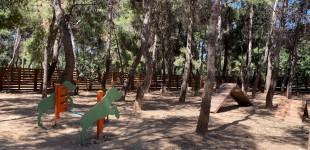 Αναβάθμιση του δημοτικού πάρκου σκύλων στο άλσος «Στρατ. Αλεξ. Παπάγου»