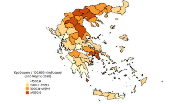 Κορωνοϊός: «Πρωτιά» για την Αττική με 672 κρούσματα – 126 μολύνσεις στη Θεσσαλονίκη