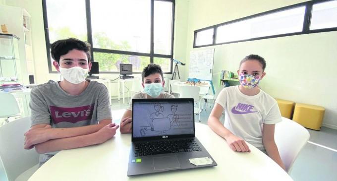 Ελληνόπουλα με μυαλό… κομπιούτερ – Διεθνής διάκριση για τα πρωτάκια του γυμνασίου Χασιώτη
