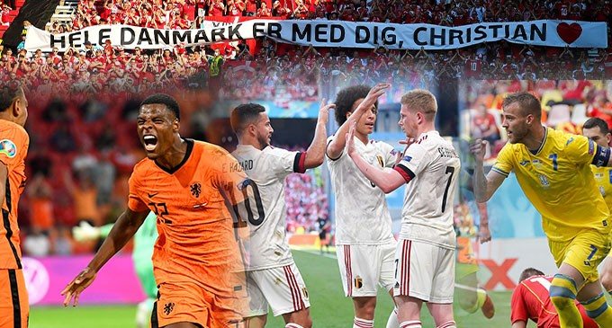 Euro 2020: Το πρόγραμμα της Δευτέρας 21/6