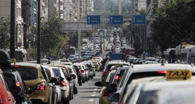 Κυκλοφοριακό χάος λόγω απεργίας των ΜΜΜ