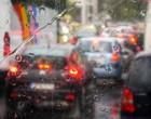 Κίνηση: Χάος στους δρόμους από την καταιγίδα – Αποκαταστάθηκε η κυκλοφορία στον Κηφισό