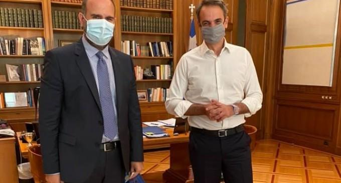 Δημήτρης Μαρκόπουλος -Βουλευτής Β' Πειραιά ΝΔ: Συνάντηση με Μητσοτάκη – Συζήτησαν με τον πρωθυπουργό σημαντικά θέματα του ευρύτερου Πειραιά