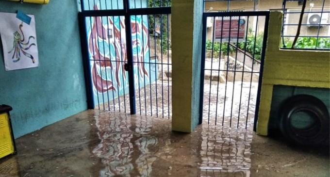 Πλημμύρισε νηπιαγωγείο μετά την ισχυρή βροχόπτωση στην Αθήνα