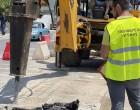 Παρεμβάσεις στην κεντρική νησίδα της Πειραιώς στα Καμίνια με στόχο την ελαχιστοποίηση κινδύνου ατυχημάτων