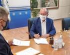 Σύμβαση χρηματοδότησης για την αντικατάσταση των αμιαντοσωλήνων σε Μάτι και Ζούμπερι