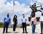 Επίσκεψη της Υφυπουργού Τουρισμού Σοφίας Ζαχαράκη στην Σαλαμίνα