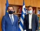 Ο Γιάννης Μελάς συναντήθηκε με τον Υπουργό Περιβάλλοντος & Ενέργειας