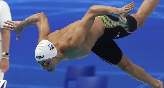 Ολυμπιακοί Αγώνες: Με άνεση στον τελικό των 50 μέτρων ελεύθερου ο Κριστιάν Γκολομέεβ
