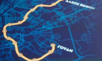 Μετρό γραμμή 4: Σε Κατεχάκη και Γαλάτσι τα πρώτα εργοτάξια ΑΒΑΞ και ΕΡΕΤΒΟ
