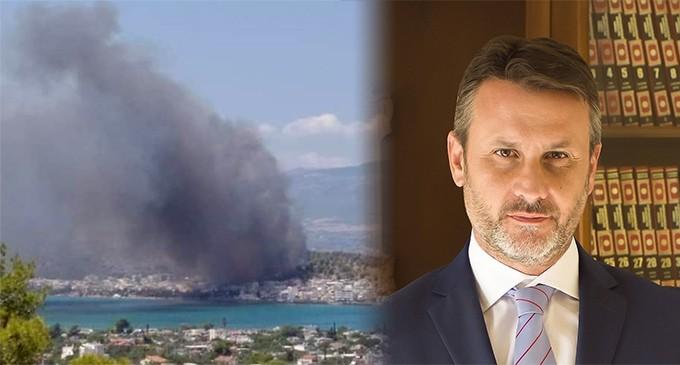 Δήλωση Δημάρχου Γ. Παναγόπουλου μετά την πυρκαγιά στη Σαλαμίνα