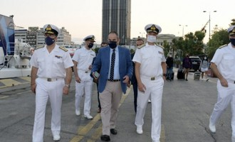 Γ. Πλακιωτάκης από το Λιμάνι του Πειραιά: Η προσπάθεια για ασφαλή ταξίδια με πλοίο συνεχίζεται με αμείωτη ένταση