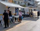 Δωρεάν Rapid Test στην πλατεία Κουμπάκη Νίκαιας