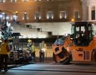 Ολοκληρώθηκαν τα έργα ανακατασκευής του οδοστρώματος περιμετρικά της πλατείας Συντάγματος