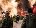 Φωτιά: Ενώθηκε το πύρινο μέτωπο- Στα πρώην βασιλικά ανάκτορα οι φλόγες – Κινούνται προς Κρυονέρι