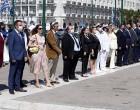 Περιφέρεια Αττική – Δήμος Σαλαμίνας: Τελετή στο Μνημείο του Αγνώστου Στρατιώτη στο Σύνταγμα προς τιμή της ιστορικής επετείου της Ναυμαχίας της Σαλαμίνας