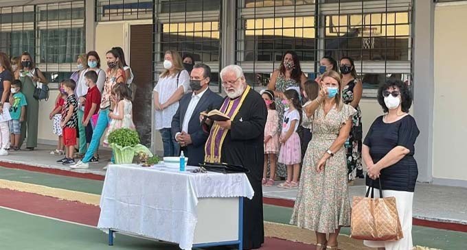 Μήνυμα του αντιδημάρχου Κορυδαλλού Γ. Δημόπουλου για την έναρξη της νέας σχολικής χρονιάς