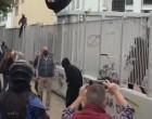 Νέα επεισόδια στο ΕΠΑΛ Σταυρούπολης: Κουκουλοφόροι βγήκαν μέσα από το σχολείο, πέταξαν πέτρες και μολότοφ