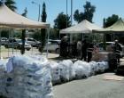 Πραγματοποιήθηκε η διανομή τροφίμων στους ωφελούμενους δικαιούχους του ΤΕΒΑ στον Δήμο Μαραθώνος