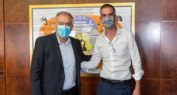 Συνάντηση Θεοδωρικάκου-Μπακογιάννη: Για θέματα ασφάλειας στις γειτονιές της Αθήνας