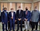 Επίσκεψη αντιπροσωπείας της AHEPA HELLAS για την στήριξη του Κοινωνικού Παντοπωλείου του Δήμου Μαραθώνος